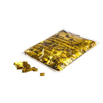 CONFETTI METALLIC GLITTER 17x17mm 1kg GOUD