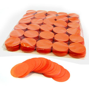 fxshop slowfall confetti rondjes oranje