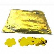 Fxshop, confetti metallic bloemen goud, confetti metallic flowers gold