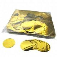 Fxshop, confetti metallic rondjes goud, confetti metallic rounds gold