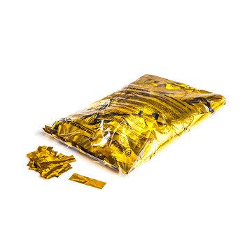 CONFETTI METALLIC GLITTER 55x17mm, 1kg goud
