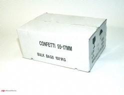Slowfall confetti 55x17mm, 10 kg